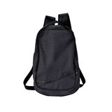 Black backpack isolated with path Royalty Free Stock Image