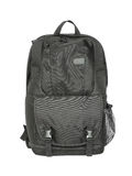 Black backpack royalty free stock images
