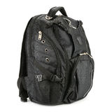 Black backpack Royalty Free Stock Photography
