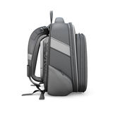 Black backpack side view Stock Photography
