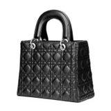 Black Bag. On White Background Stock Photos