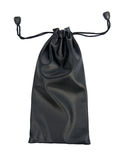 Black bag. On white background Stock Images