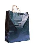 Black bag paper Stock Image