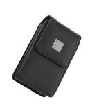 Black bag for photocamera Stock Photos