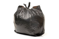 Black bag of rubbish Royalty Free Stock Images