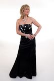 Black Ball Gown Royalty Free Stock Photography