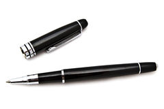 Black Ball Point Pen Stock Image