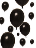 Black Balloons Stock Photos
