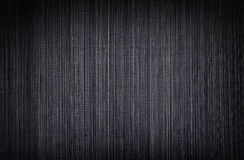 Black bamboo texture Stock Images