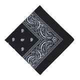 Black bandanna Stock Photo