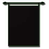 Black Banner Abstract Royalty Free Stock Photos