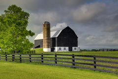 Black Barn Royalty Free Stock Photos