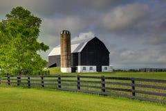 Black Barn Royalty Free Stock Photos