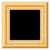 Black baroque Royalty Free Stock Photography