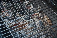 Black barrel grill. stock images