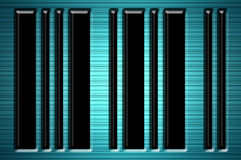 Black bars Stock Photography