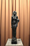 Black basalt statue of Cleopatra VII Royalty Free Stock Photo