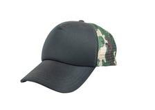 Black baseball cap isolated on white background Royalty Free Stock Image