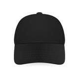 Black baseball cap. royalty free illustration
