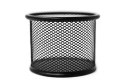Black basket Stock Photos