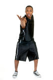 Black Basketball player Royalty Free Stock Image
