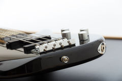 Black Bass Guitar Royalty Free Stock Photography