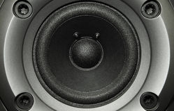 Black bass speaker Royalty Free Stock Photos