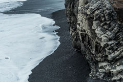 Black Beach Elements Royalty Free Stock Images