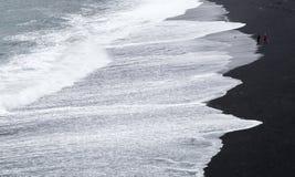 Black Beach, VIK, Iceland Stock Images