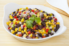 Black Bean and Corn Salad Stock Images
