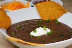 Black Bean Soup Stock Photos