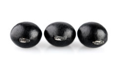 Black beans Royalty Free Stock Photos
