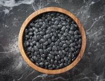 Black beans Stock Photo