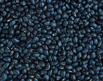 Black beans background, background pattern Stock Photo