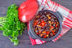Black beans Royalty Free Stock Image