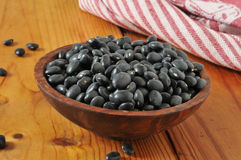 Black beans Royalty Free Stock Images