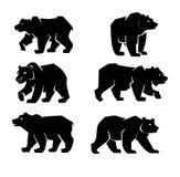 Black Bear symbol Royalty Free Stock Photo