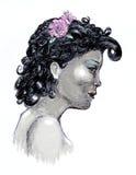 Black beauty Royalty Free Stock Photography