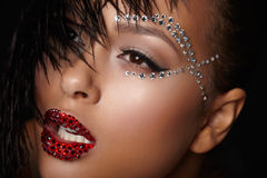 Black beauty Stock Photography
