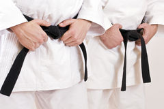 Black belt Stock Image