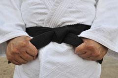 Black Belt Stock Photography