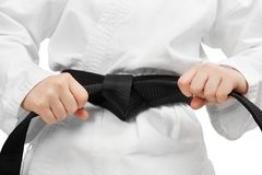 Black Belt Royalty Free Stock Images