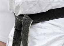 Black belt Royalty Free Stock Photo