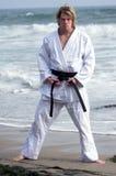Black Belt Beach Royalty Free Stock Photos