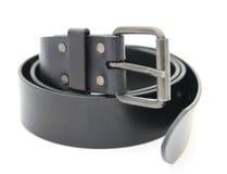 Black belt close up Stock Photos