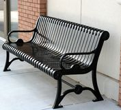 Black Bench stock photography