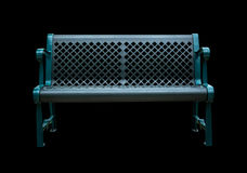 Free Black Bench In The Park Royalty Free Stock Image - 75403186