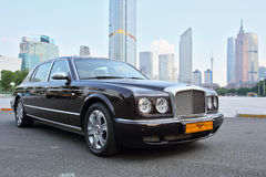 Black bentley Stock Photo