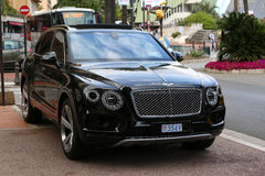 Black Bentley Bentayga Royalty Free Stock Images