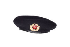 Black beret Stock Photos